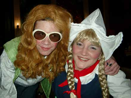 Fasching 2004: Flocki & Doris