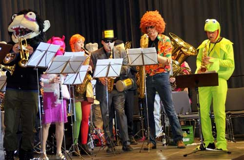 Faschingsgala 2012: The Muppet Syncopators